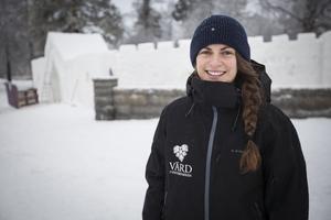 Ylva Eriksson är programansvarig för Vinterparken i Östersund. Helgen 4-5 februari öppnar 2017 års Vinterpark.