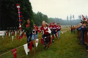Här föds en dröm. Leksands herrar vinner Ungdomens Tio-mila 1993.