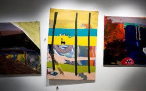 Walldagruppens respektlösa måleri blev en stor inspirationskälla för 1970-talets unga konstnärer.