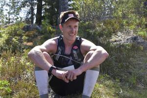 Andreas Svanebo, segrare på herrarnas 49 kilometer, såg loppet som fin träning inför AXA Fjällmaraton senare i sommar.