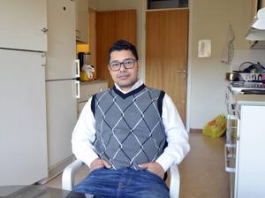 Sulaiman Abualfita trivs bra med att studera i Sundsvall.