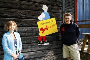 Susanne Söderman och Joakim Danielsson är med och arrangerar Joelmässan. Det är fjärde året i rad sedan omstarten som Hammerdals stora folkfest hålls.