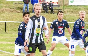 Jonatan Norevi (här i Ljusnes dress) blev stor matchhjälte för IF Norränge när han smällde in tre mål i andra halvlek mot Arbrå/Vallsta.