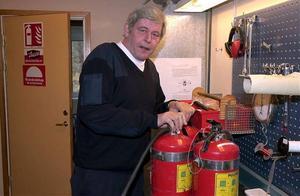 Brandskyddsveckan har som syfte att förbättra brandskyddet i hemmen. Per-Erik Hörner är ansvarig för brandskyddsarbetet inom Räddningstjänstförbundet Höga Kusten-Ådalen.