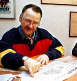 Paul Sjödin, stadsbyggnadskontoret, tycker inte att Lennart Wagenius fått vänta onormalt länge.