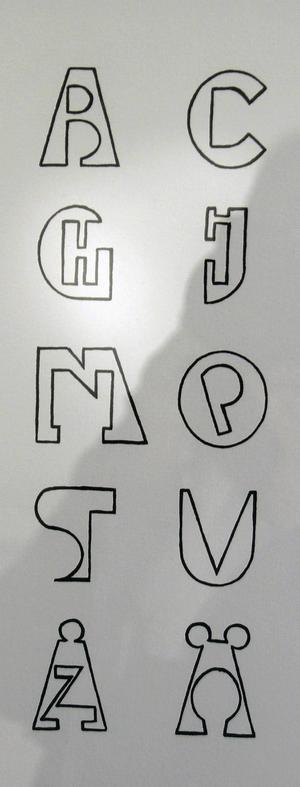 Rationella alfabetet.