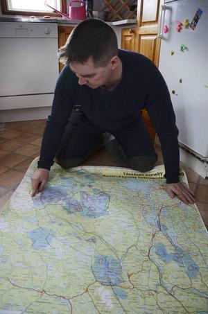 Tåssåsens sameby var en av de första att sammanställa ett första utkast av sin renbrukskarta. I slutet av 2014 ska hela landet vara karterat på samma sätt.