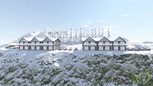 Här ska de nya lägenhetshusen byggas det närmsta året.