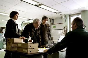 Deckaren som film: Eva Rexhed, Sven Wollter och Thomas Hanzon i senaste Nesserfilmatiseringen.