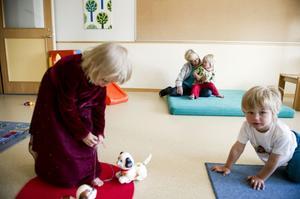 Örnsköldsvik är nästan hundraprocentiga inom förskolan.