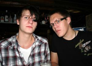 Konrad. Daniel och Janne