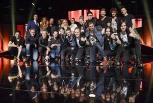 Uppgifterna om röstfusk kommer samtidigt som artisterna förbereder sig för andra chansen i Melodifestivalen på lördag. Foto: Janerik Henriksson/TT