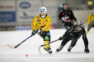 Jonas Nygren hade sin klubba med i två av Brobergs mål.