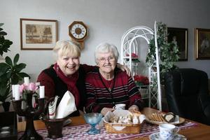 Ewa-Marie Arngrip fyller 60 år den 2 november och Anna-Lisa Karlsson fyllde 85 den 13 oktober.