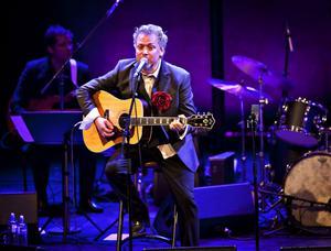 själfullt. Eric Gadd och Bohuslän Big Band överdoserade med svängig soul på konserthuset i går kväll.