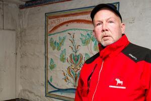 Jan-Åke Karlsson är ansvarig för Bortom åa, Fågelsjös världsarvsgård.