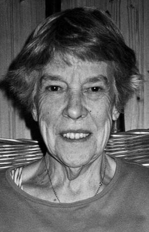 Ellen Högman, dotter till soldat Brandt.