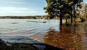 Bryggan ligger en bra bit ute i vattnet. Se fler bilder längst ner i artikeln.