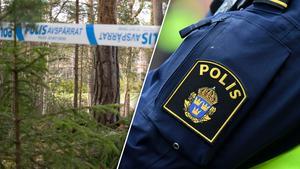 Mannen hittades vid Klippudden mellan Falun och Borlänge.