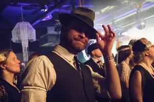 Pär Krantz hade dammat av hatten, kvällen till ära.