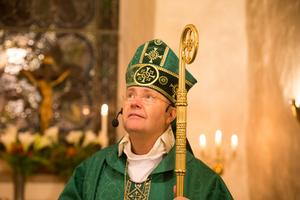 """""""Domkapitlets beslut fokuserar på hur Katia har utfört uppdraget som präst och kyrkoherde"""", skriver biskop Johan Dalman."""