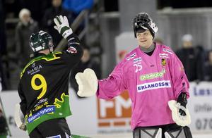 Jakob Hugoh har imponerat i Frillesås mål under säsongsinledningen. Bild: Adam Ihse / TT
