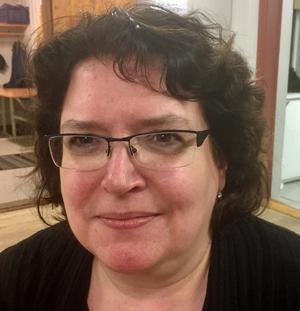 Margareta Mahmoud-Persson omvaldes som ordförande för Kristdemokraterna i Härjedalen.Foto: Lars-Ivan Nilsson