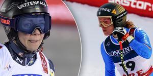 Frida Hansdotter håller inte med om att Åre skulle vara en dålig plats för ett OS. Bild: TT.