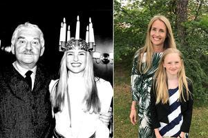 För 25 år sedan var hon Sveriges lucia och fick träffa Hasse Alfredson – förra året fick Linda Olofsson Engholm se sin dotter Julia som lucia på Resarö skola.
