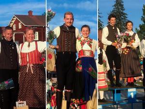 Vinnarna i årets Hälsingehambo: Mikael Eriksson, Ann-Katrin Eriksson, Johannes Engblom Leffler, Ellen Engblom Leffler, Elias Grefberg och Enny Segerdahl. Bild: Stina Malmberg