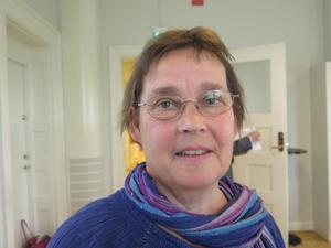 Karin Jansson är lättad sedan det nu tycks stå klart att Miljöpartiet klarar sig kvar i regionfullmäktige i  Gävleborg.
