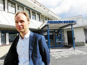 Björn Rentzhog är koncernchef på Persson Invest.