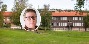 """""""Vi tror det är rimlig att ha en högstadieskola i kommunen"""", säger Viktor Zakrisson (S)."""