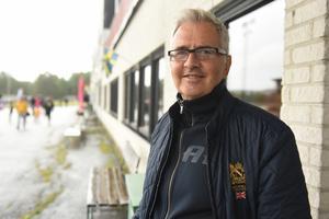 Mats Svensson från Uppsala var på plats och hejjade på On track piraten.