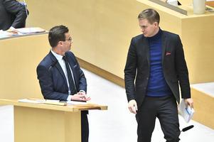 Gustav Fridolin kliver inom kort tillbaka från rollen som språkrör i MP.