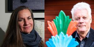 Lena Wennilsjö och Bosse Yman.