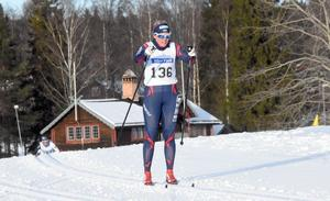 Sandra Olsson vann damklassen i Orsa Grönklitt Ski Marathon.