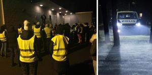 Många privatpersoner har samlats i Gnosjö för att leta efter pojken. Bilden till höger är en arkivbild. FOTO: Stefan Fels