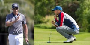 Henrik Stenson (t.v.), Alex Norén och... Philip Eriksson (t.h.). Det var tre av namnen på PGA-tourtävlingen i Memphis i helgen. Foto: Wilfredo Lee, AP/Stig-Göran Nilsson
