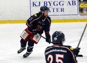 Anton Eriksson, poängkung i SSIF.