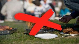 Eldningsförbud i flera Dalakommuner infördes på måndagen.