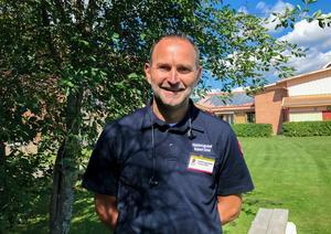 Robert Strid är stolt över arbetet som genomförts för att bekämpa bränderna – och lite trött efter tre veckors hårt arbete med att leda räddningsarbetet.