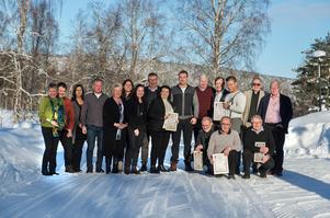 Alla nominerade till Företagargalan i Ånge 2018.