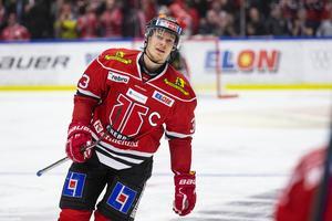 Christopher Mastomäki är ny lagkapten i Örebro Hockey. Snart offentliggörs också de assisterande kaptenerna. Bild: Johan Bernström/Bildbyrån