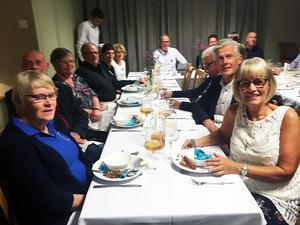 Kristdemokraterna i Ovanåkers kommun höll sin valvaka i Edsbyns hotell, där det bjöds på middag med tre rätter.
