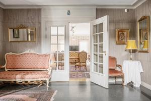 Kung Gustav III har övernattat på Fagersta herrgård. Foto: Erik Olsson Fastighetsförmedling