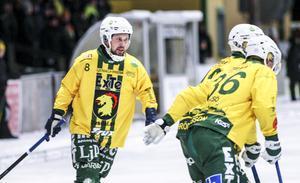 Johan Jansson Hydling är imponerad över hur de yngre spelarna i Ljusdal tagit för sig i allsvenskan.