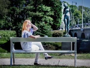 Mera landsbygd vill Annie Lööf (C) ha i politiken. Här på hemmaplan i Värnamo.