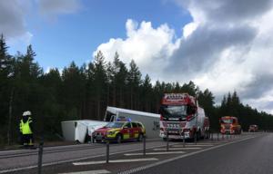 Bild från olycksplatsen.