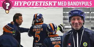 Bollnäs tränare Svenne Olsson ställs inför 15 lite kluriga frågeställningar i Bandypuls